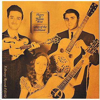 Harry West & Jeanie - Songs of the Southland [CD] USA import