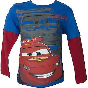 Disney biler McQueen lange ermer topp / t-skjorte