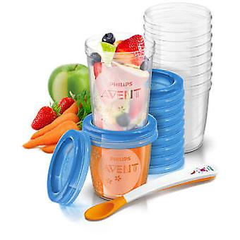 Avent Food Container Set (Childhood , Childcare , Home appliances , Cook)