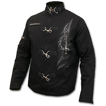 Spiral - TRIBAL CHAIN - Men's Orient Goth Jacket, Black