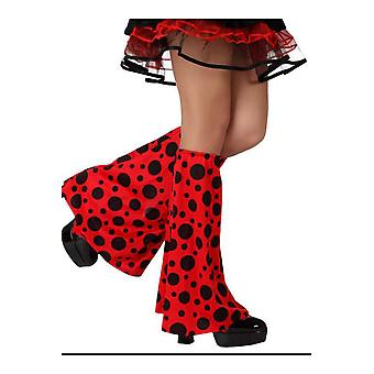 Stockings and leg accessories  Ladybug legwarmers
