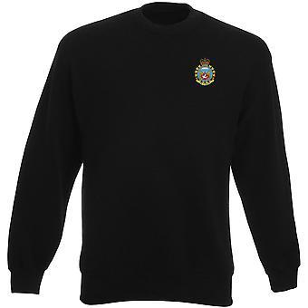 Canadian Parachute Regiment Airborne Embroidered Logo - Heavyweight Sweatshirt