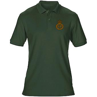 The Blues And Royals Embroidered Logo - Official British Army Mens Polo Shirt