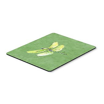 Carolines Treasures  8864MP Dragonfly on Avacado Mouse Pad, Hot Pad or Trivet