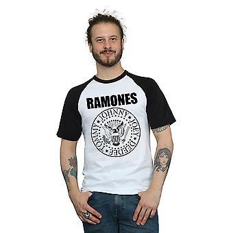 Ramones Men's Presidential Seal Baseball T-Shirt