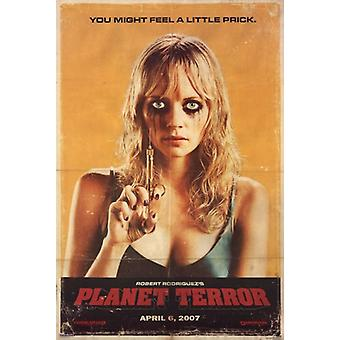 Grindhouse - Planet Terror - Prick-Poster-Plakat-Druck