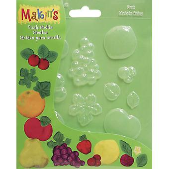 Poussoir d'argile de Makin moules Fruits M390 2