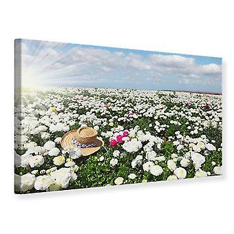 Canvas Print Spring Flower Meadow
