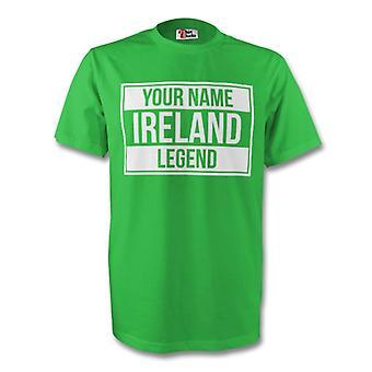 Your Name Ireland Legend Tee (green)