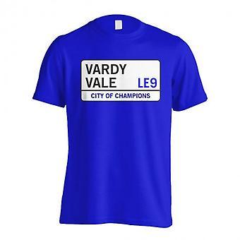 Vardy Vale - Leicester Street T-Shirt (niebieski)