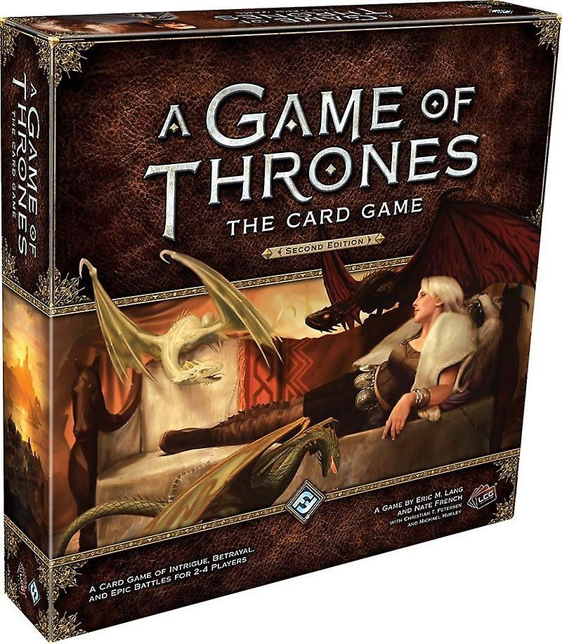 A Game of Thrones The voitured Game Second Edition