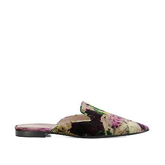 Alberta Ferretti women 66088207A1176 multicolour velvet sandals