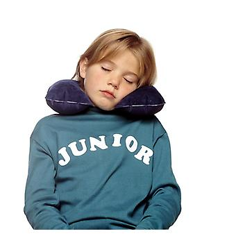 Almohadilla cervical junior. (Sleepover Junior. Azul marino)