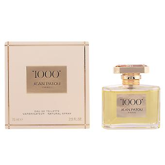 Jean Patou 1000 Eau De Toilette Vapo 75ml Womens New Perfume Scent Sealed Boxed