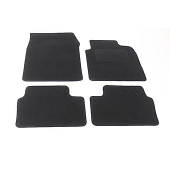 Fully Tailored Car Floor Mats - Opel VECTRA C Estate 2003-2008 Black