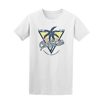 Surf Club California Palm Trees Graphic Tee - Image by Shutterstock