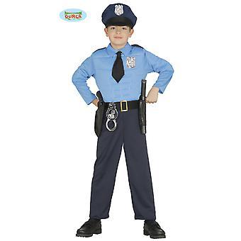 COP костюм полиции полиции костюм дети
