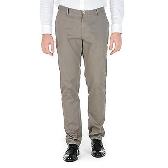 Hugo Boss Mens Pants Beige Rice