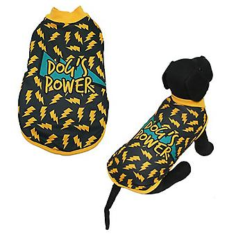 MI&DOG Abrigo Capa Felpado Dogs Power T-40 (Dogs , Dog Clothes , Coats and capes)