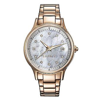 ESPRIT Black watch Bracelet montre Jane Rosé inox ES108622003