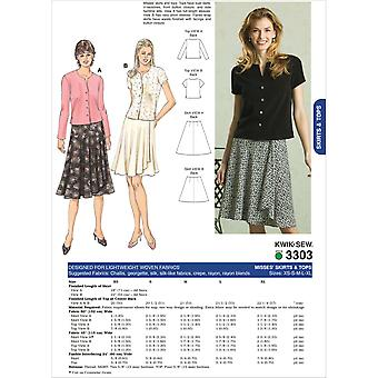 Skirts and Tops-XS-S-M-L-XL -*SEWING PATTERN*