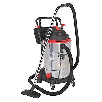 Sealey Pc460 Vacuum Cleaner Wet And Dry 60Ltr 1600W/230V