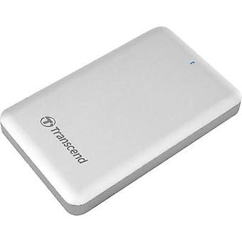 Transcend StoreJet SJM500 2.5 external Apple Mac SSD hard drive 256 GB Silver USB 3.0, Thunderbolt