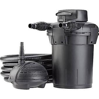 Pontec 57147 Druck Filter inkl. UVC Teich Klärer 2500 l/h