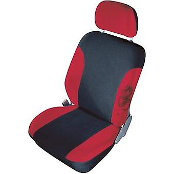 cartrend 79-5320-02 Mystery Seat covers 11-piece Polyester Red Driver's seat, Passenger seat, Back seat