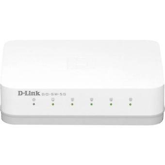 D-Link GO-SW-5G Network RJ45 switch 5 ports 1 Gbit/s