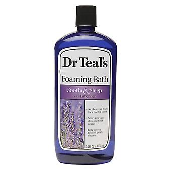 Dr. teal's foaming bath, soothe & sleep with lavender, 34 oz