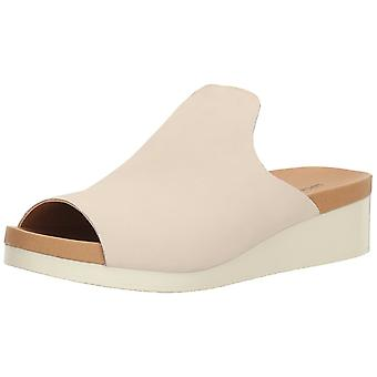 Lucky Brand Womens Finela Leather Open Toe Casual Slide Sandals