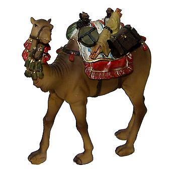 Nativity accessories camel with baggage and saddle for Christmas Nativity Manger Nativity