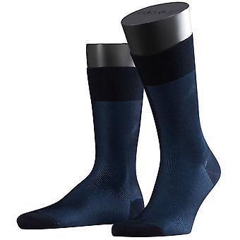 Фалке штрафа тень носки - темно-синий