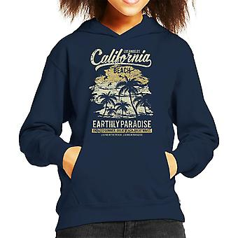 Los Angeles California Beach Kid's Hooded Sweatshirt