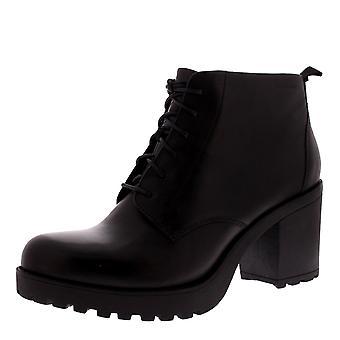 Womens Vagabond Grace Block Heel Closed Toe Fashion Work Ankle Boots