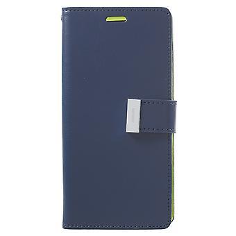 Mercury GOOSPERY Rich Diary till Samsung Galaxy S9 Plus - Blå