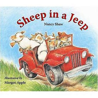 Sheep in a Jeep by Nancy Shaw - Margot Apple - 9780547237756 Book