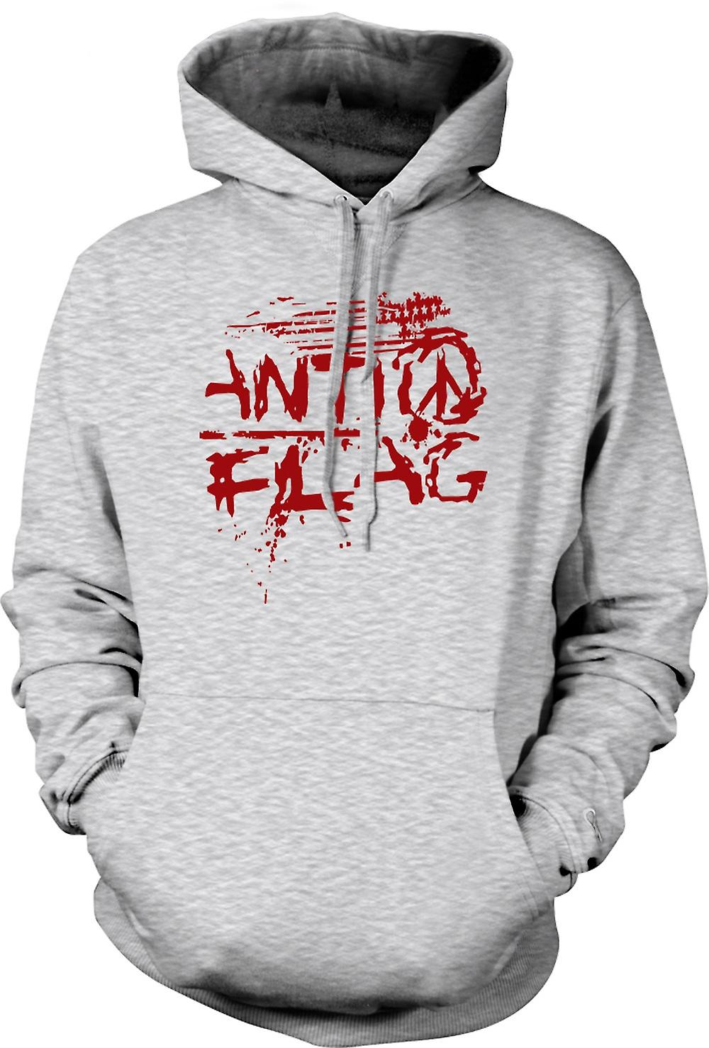 Herren Hoodie - Anti - Flag - US - Punk Rock Band - Anarchy