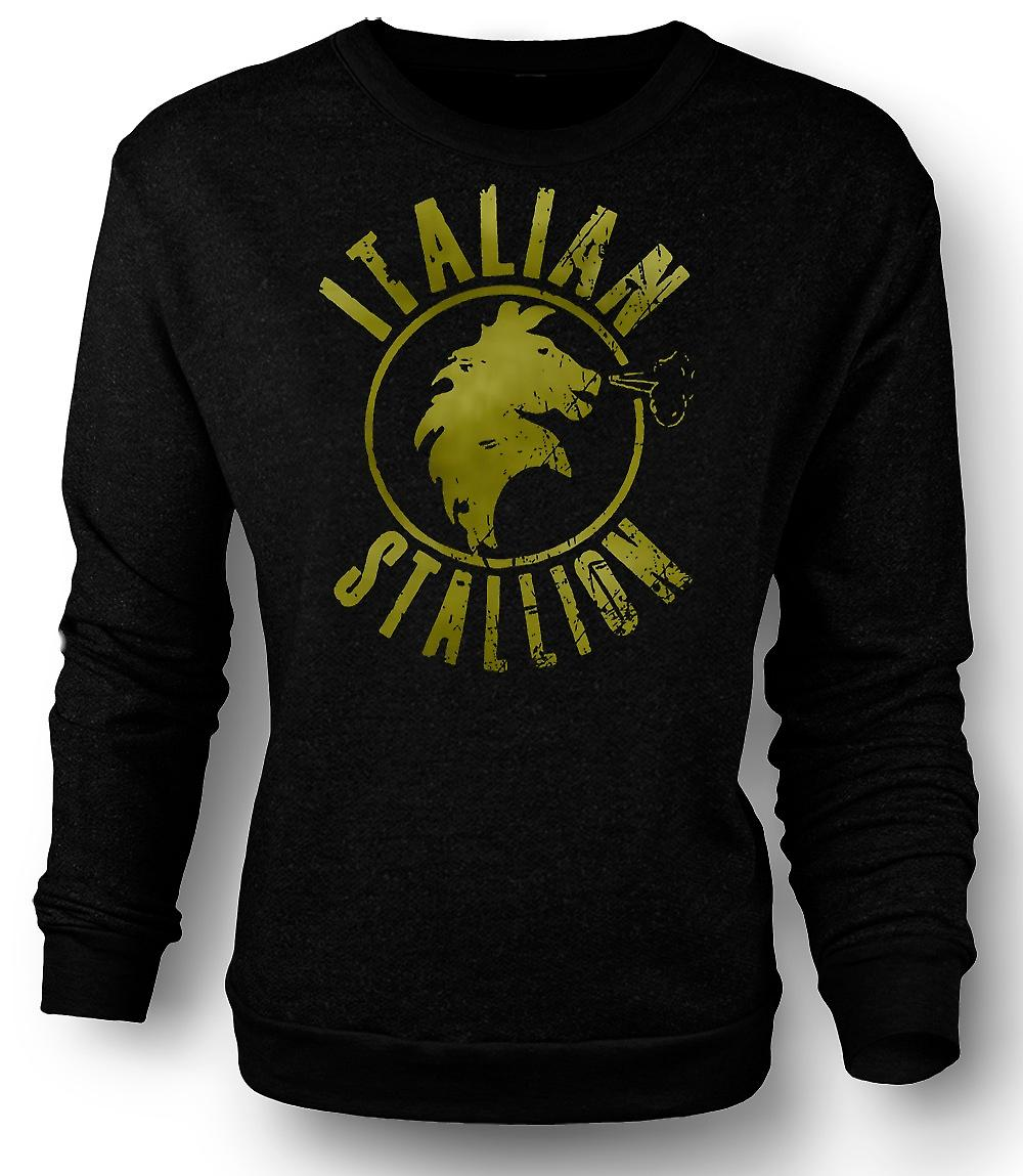Mens Sweatshirt Italian Stallion - Rocky - Boxing