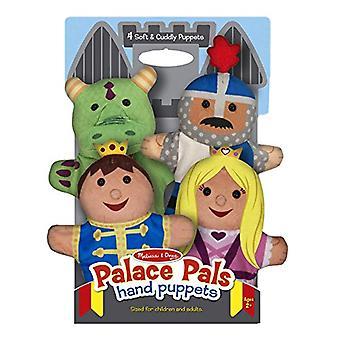 Melissa & Doug Palácio Pals fantoches Príncipe Princesa e o cavaleiro dragão
