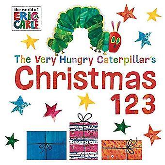 De zeer hongerig Caterpillar kerst 123