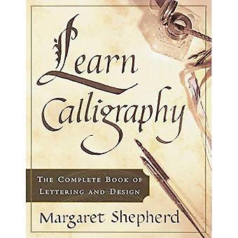 Leren van kalligrafie
