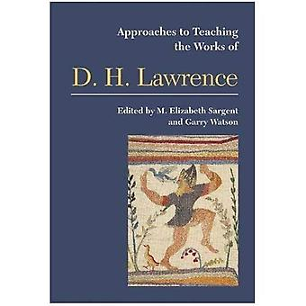 Approaches to Teaching the Works of D. H. Lawrence
