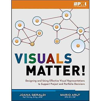 Visuals Matter!: Designing and Using Effective Visual Representations to Support Project and Portfolio Decisions