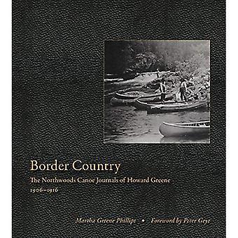 Grænseland: Northwoods kano kladder af Howard Greene, 1906-1916