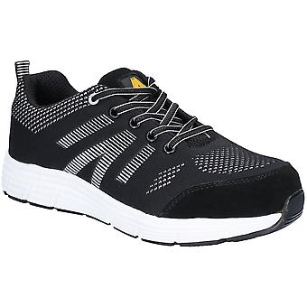 Amblers Mens 714 SBP Bolt Lace Up Leather Safety Trainers