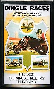 Dingle Races embossed metal sign  (hi 2030)