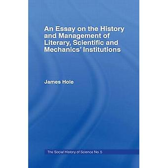 Essay on History and Management Essay Hist Management by Hole & James