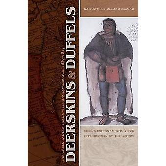 Deerskins e descrevam o comércio indiano Creek com AngloAmerica 16851815 por Braund & Kathryn E. Holland